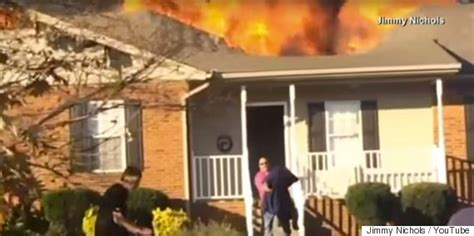 dog house rescue off duty fireman runs into burning house to rescue stranger s dog