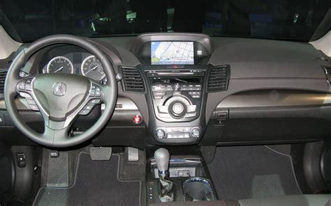 Acura Suv Interior by 2015 Santa Fe Vs 2015 Acura Mdx Autos Post