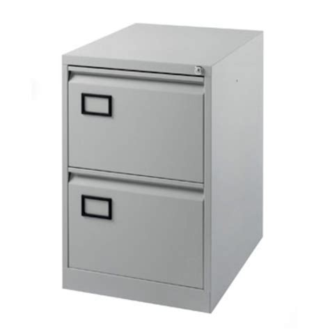 Two Door Filing Cabinet Bisley 2 Drawer Foolscap Filing Cabinet Grey Staples 174