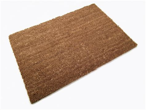 Doormat Coir 40 x 60cm coconut plain coir mat doormat matting entrance reception new