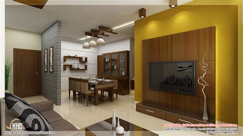 dining kitchen living room interior designs kerala home beautiful interior design ideas kerala house design
