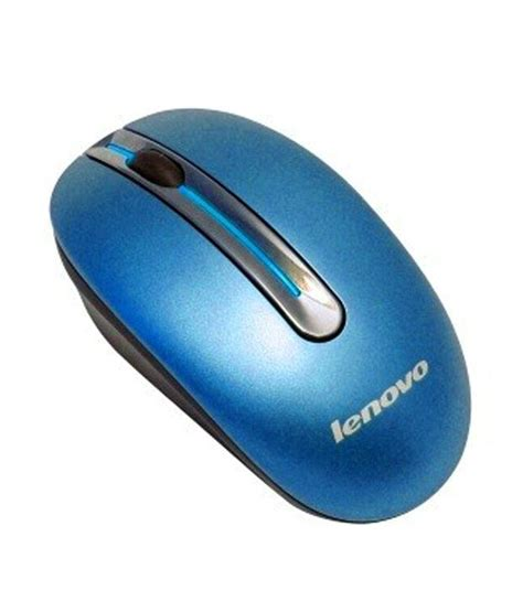 Mouse Wireless Lenovo lenovo wireless mouse n3903 blue buy lenovo wireless mouse n3903 blue at low price in