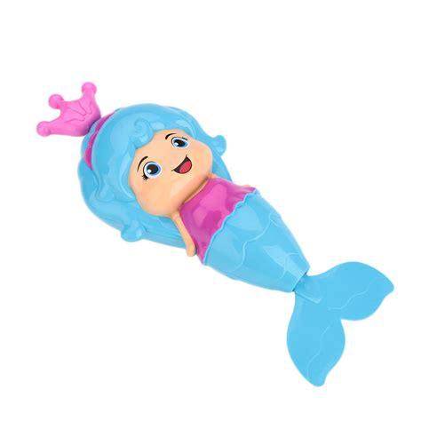 mermaid bathtub toy mermaid clockwork dabbling bath toys classic swimming wind