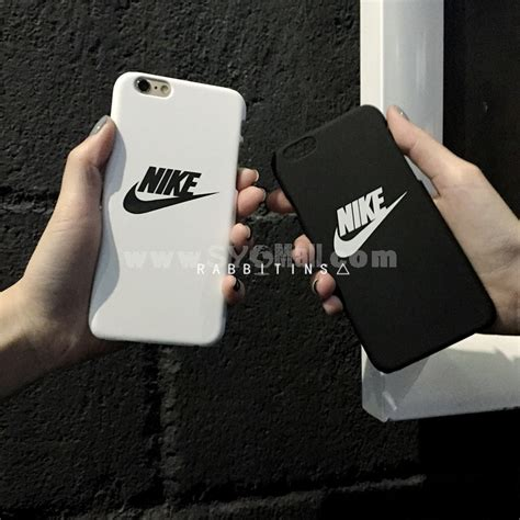 Nike Black Iphone 7 7 Plus Casing Cover Hardcase nike swoosh pattern phone for iphone 6 6s iphone 6 6s plus iphone 7 8 iphone 7 8