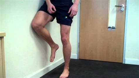 Hip Wall Physio In The City Hip External Rotation Against Wall