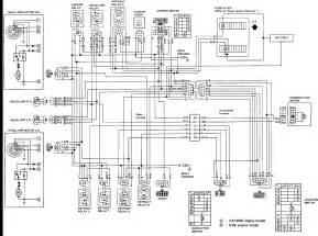 nissan pulsar high beams low beam wiring diagram the