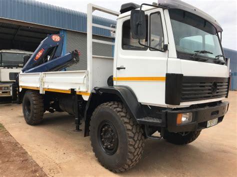 mercedes truck 4x4 mercedes 1617 4x4 crane truck junk mail