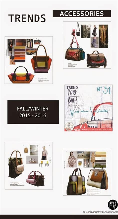 fashion vignette trends trend book bags shoes f w 2015 16