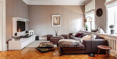 swedish home interiors charming swedish style apartment in cappuccino color