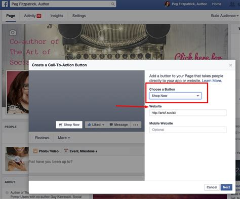facebook fan page followers how to use facebook s call to action button to bring in