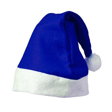 imagenes santa claus azul gorro navidad azul
