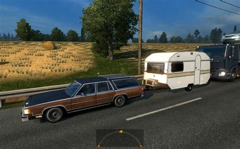 mod car game euro truck simulator 2 ets2 cars with trailers in ai traffic for ets2 1 25 x