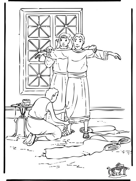 best photos of joseph in prison coloring page joseph