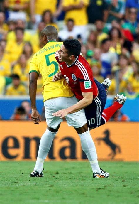 kết quả tỉ số trận đấu brazil colombia tứ kết world cup