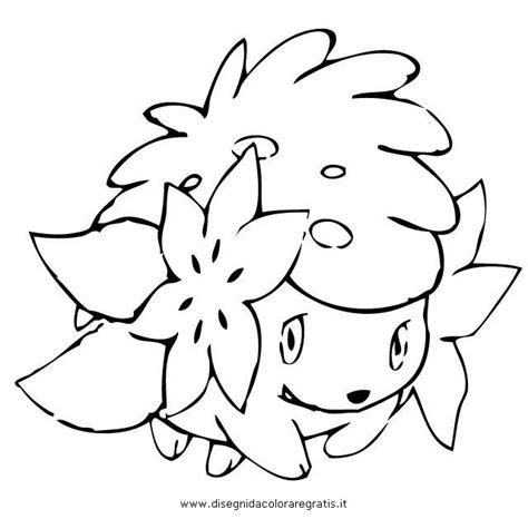 pokemon coloring pages shaymin how to draw pokemon shaymin