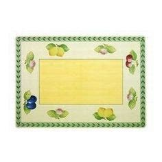 Villeroy And Boch Garden Cork Placemats by Beautiful Dishware On Dinner Plates China And