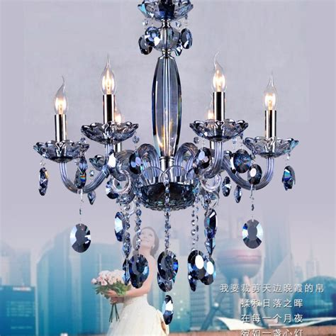 No Chandelier In Dining Room by Blue Chandelier Dining Room Glass Arm Chandeliers Modern Luxury Wedding Chandelier