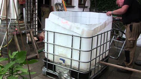 pool aus ibc tank container selber bauen so - Tauchbecken Selber Bauen