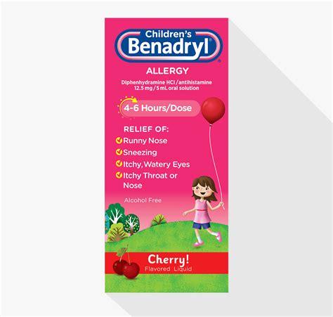benadryl for allergies children s benadryl 174 allergy liquid benadryl 174