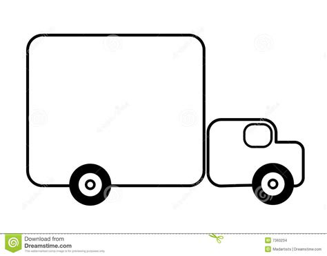 Truck Outline by Truck Clipart Outline Www Pixshark Images Galleries With A Bite