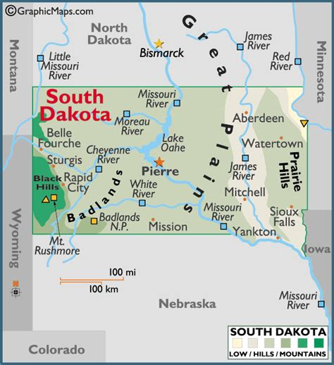 south dakota in usa map south dakota map we will be going to mt rushmore and