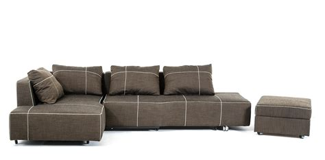 Sectional W Chaise Camden Modern Fabric Sectional Sofa W Chaise