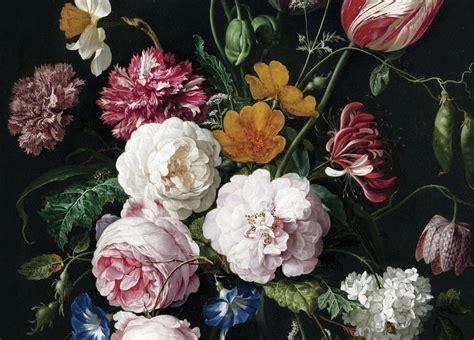 bloemen behang kinderkamer behang op maat bloemen gouden eeuw wp 222 behangopmaat