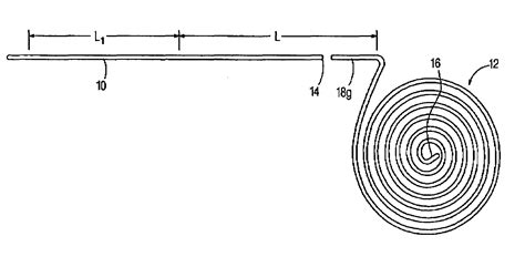 flat wire coil springs patent us7055244 method of manufacturing flat wire coil springs to improve fatigue and