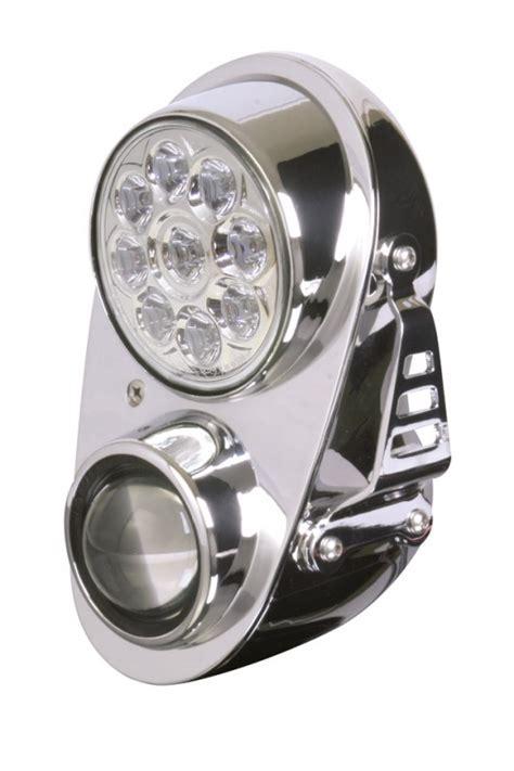 Motorrad Doppelscheinwerfer 229290 motorrad doppelscheinwerfer fire mit led fernlicht