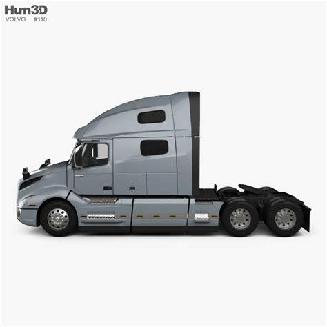 volvo tractor truck volvo vnl 760 tractor truck 2018 3d model hum3d