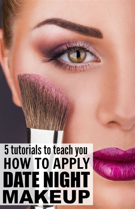 Makeup Tips For A Successful Date by 5 Date Makeup Tutorials To Make You Look Glamorous
