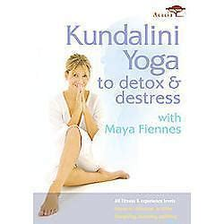 Dvd Kundalini To Detox And Destress kundalini to detox destress with fiennes dvd