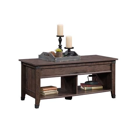 Sauder Lift Top Coffee Table Sauder Carson Forge Lift Top Coffee Table