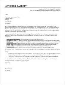 Award Winning Letter Of Interest Cover Letter Exle Executive Responds To