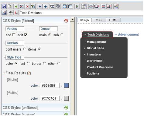 tutorial css menu maker free download css horizontal dropdown menu filesight