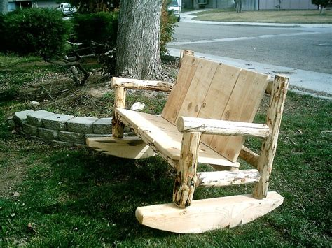 outdoor rocking bench modest cheap outdoor benches featuring rocking exterior