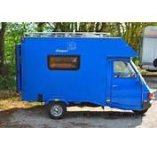 Le Piaggio Ape Moca Camper  Plus Petit Camping Car Du Monde