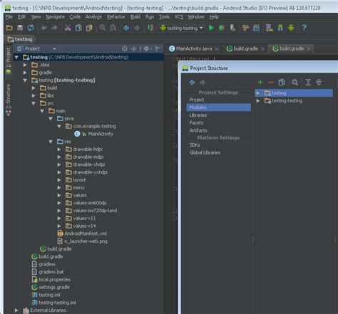 Why Android Studio by Intellij Idea Android Studio Why Does My New Project