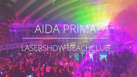 aidaprima club aidaprima lasershow im beachclub