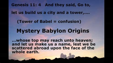 the rise of mystery babylon the tower of babel part 2 discovering parallels between early genesis and today volume 2 books mystery babylon religion tower of babel pt i