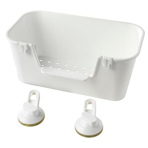 ikea bathroom basket stugvik basket with suction cup white ikea