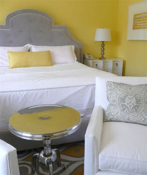 yellow and gray room decorating with gray cbell designs llc
