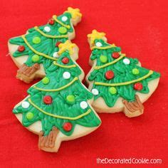1000 ideas about christmas tree cookies on pinterest