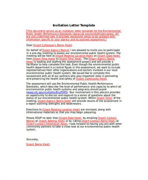 Sle Business Introduction Letter For Russian Visa sle official invitation letter format style by