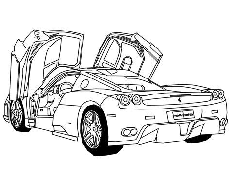Auto Zeichnung by F1reworx March 2010