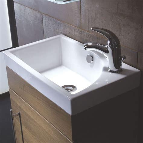 roper esta 460mm ceramic cloakroom basin bhs home