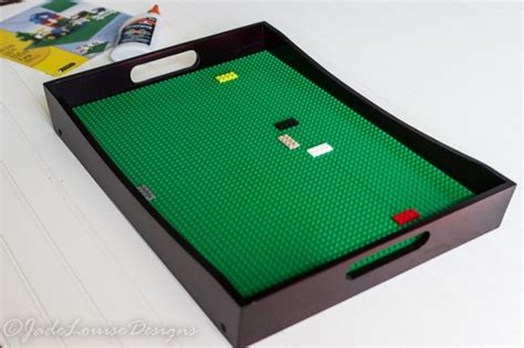 diy lego table adhesive diy lego tray table playstation best gift for