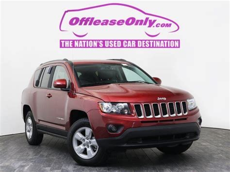 Jeep Compass Lease Price 1c4njcea3hd115878 Lease Only 2017