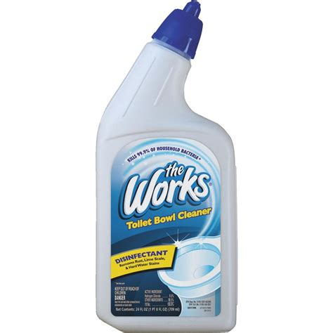 works bathroom cleaner the works toilet bowl cleaner ebay