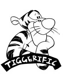tigger coloring pages awesome tigger tiggerific coloring page h m coloring pages